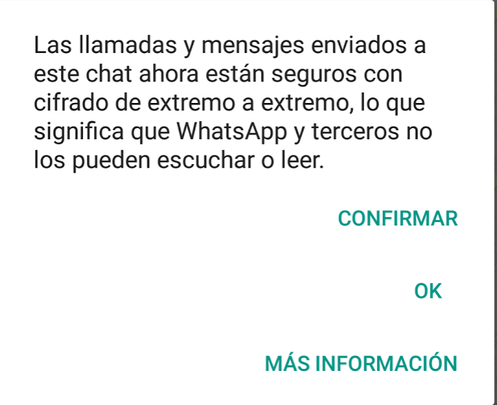 Cifrado WhatsApp