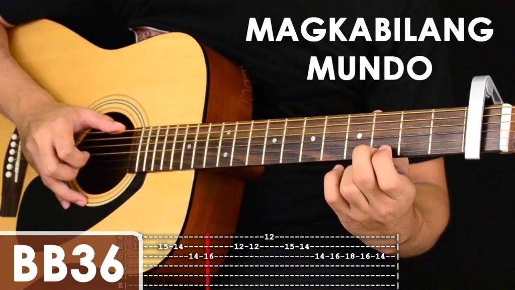 Magkabilang Mundo – Jireh Lim Guitar Tutorial (includes chords ...