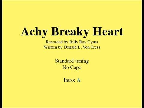 Achy Breaky Heart – Easy Guitar (chords and lyrics) | Guitar Grotto
