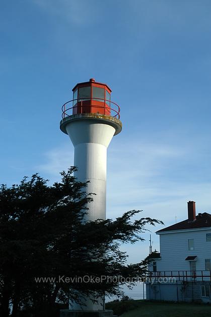 Georgina Point Lighthouse, Mayne Island, British Columbia