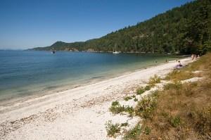 Montague Harbour Provincial Marine Park, Galiano Island