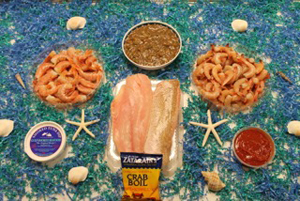 Seafood - A Taste of Gulf Shores Package