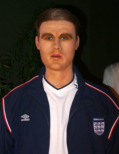 The wax Michael Owen isn't much better...