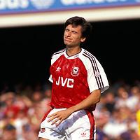 21.09.1991Alan Smith - Arsenal©Juha Tamminen