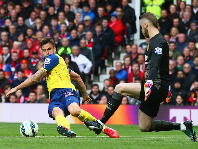 Giroud failed to make his chances count