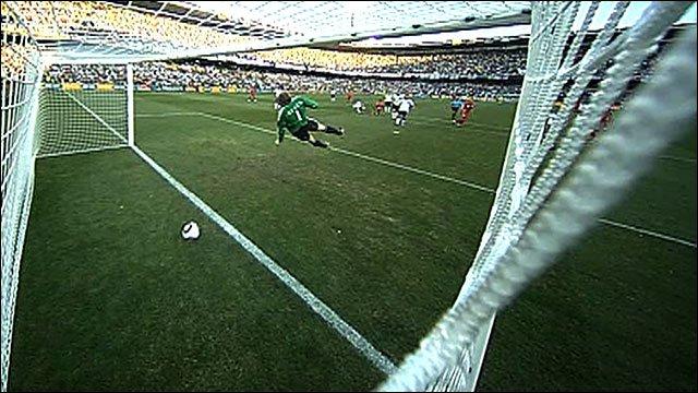 It's a Goal!! No it isn't