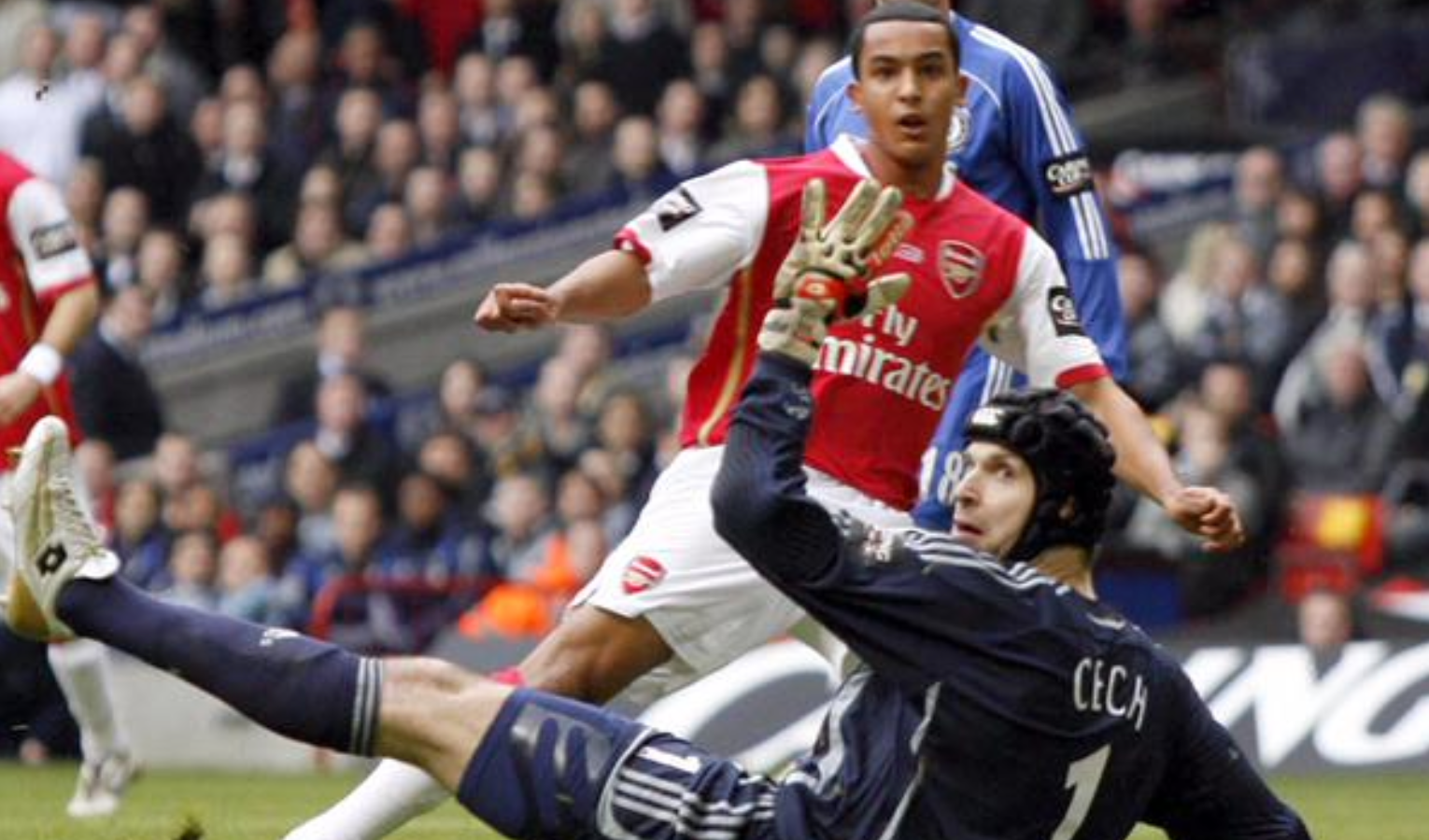Theo first goal