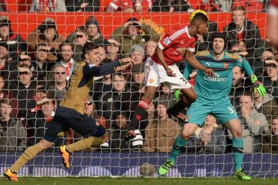 Gabriel had a part to play in both of Rashford's goals.