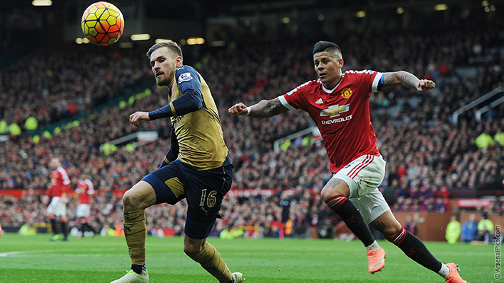 The most exciting Ramsey has been this season is in his clash with Herrera