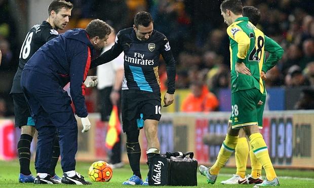 Wenger keeps Santi on injured
