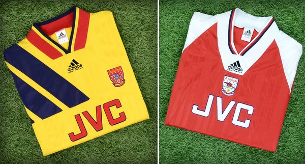 Click here to buy Classic Arsenal shirts!