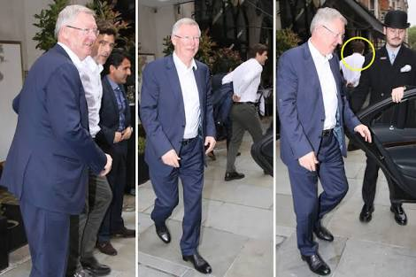 Fergie and Maurizio lunching together... Photo credit: The Sun