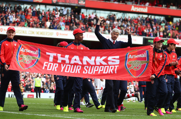 What else can we do? At the end of the day we are Arsenal supporters. Thick and Thin.