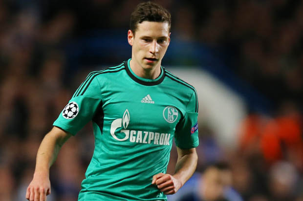 Welcoming the threat. Draxler will fit in nicely at the Emirates.