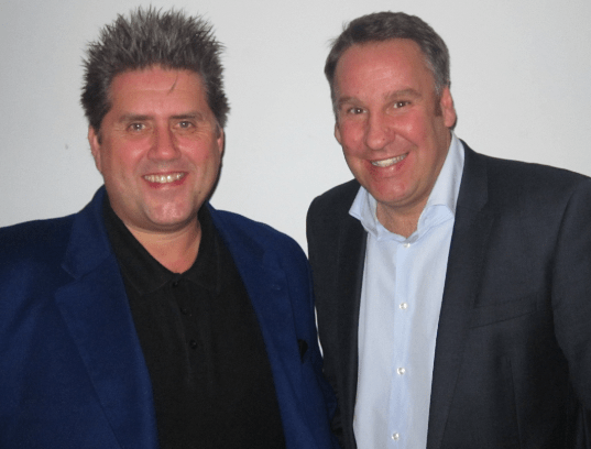 Gary Marshall with Merse