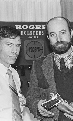 Bill Rogers and Ken Hackathorn. Both have used competition to sharpen their skills...both have taught thousands of good guys who went on to shoot lots of bad guys. Epic facial hair not required, but it helps.