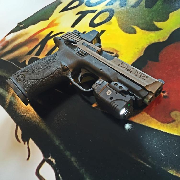 M&P9 with Crimson Trace and RMR