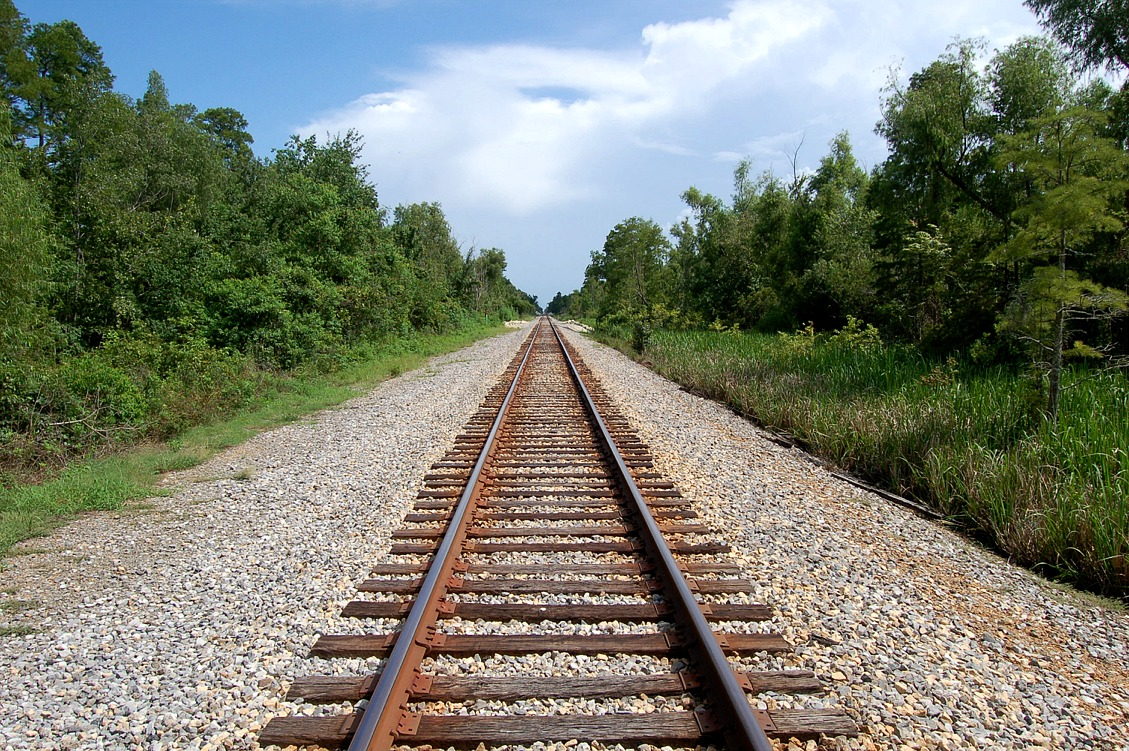 Gunter Railroad Tracks