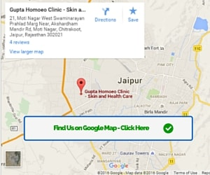Google Map Location - Gupta Homoeo Clinic
