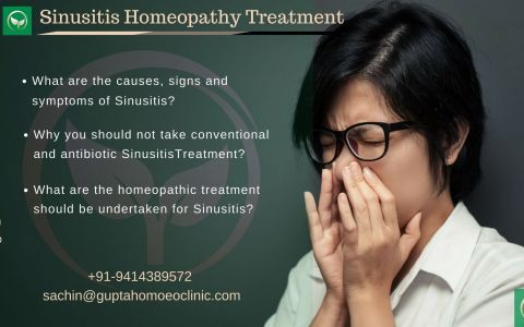 Sinusitis In Homeopathy