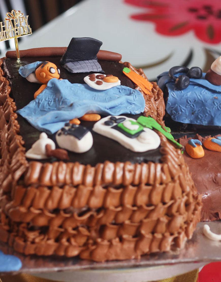 Preferential Husband Friend Ny Birthday Cakes Lazy Husband Birthday Cake Ny Birthday Cakes Men Gurgaonbakers Ny Birthday Cakes nice food Funny Birthday Cakes