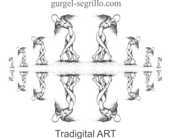tradigital art