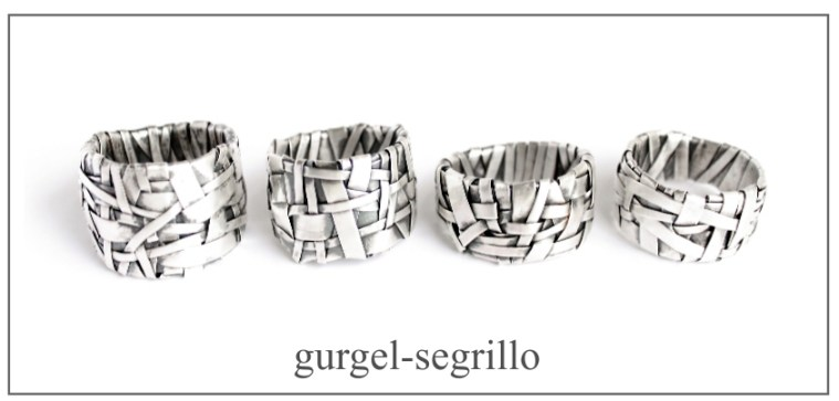 contemporary jewellery handcrafted in fine silver gurgel-segrillo
