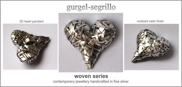 contemporary jewellery handcrafted in fine silver