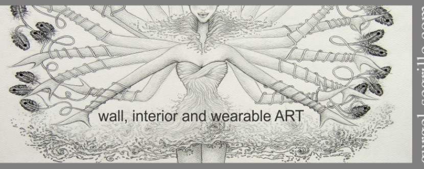 interior, wall and wearable art by gurgel-segrillo