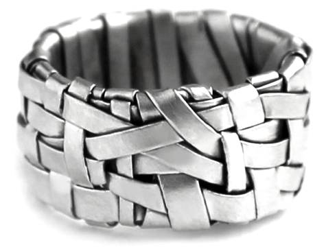ring band silver by gurgel-segrillo