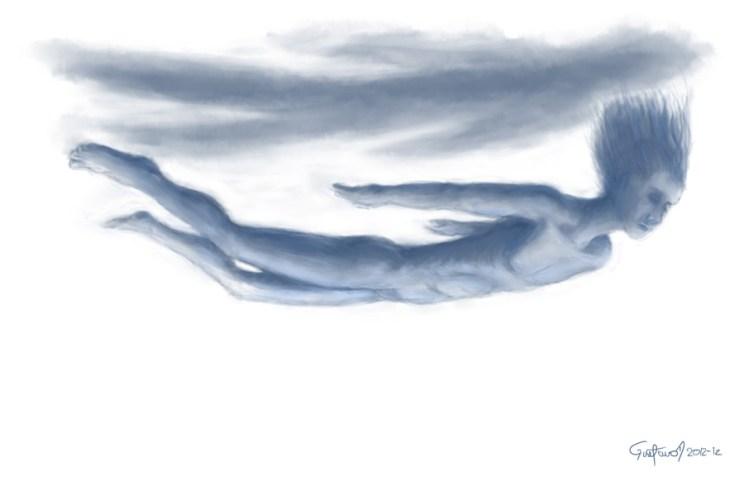Arte digital: Floating | por Gustavo A. Díaz G.