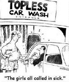 nude car wash girls