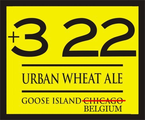 Is this the new logo for 312? (+322 is the international code for Belgium, home of AB parent InBev.) Image used with permission from Jeff Cagle.