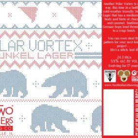 Two Brothers Polar Vortex Dunkel Lager Label