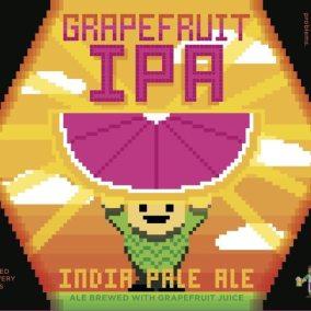 Arcade Brewing Grapefruit IPA Label