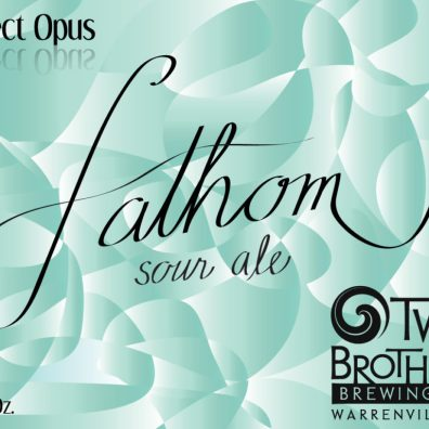 Two Brothers Fathom Sour Ale Label