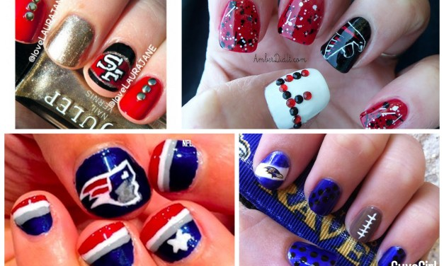 NFL Nail Art: Playoff Team Edition
