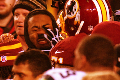 Redskins Trent Williams & Seahawks Richard Sherman: Mushed
