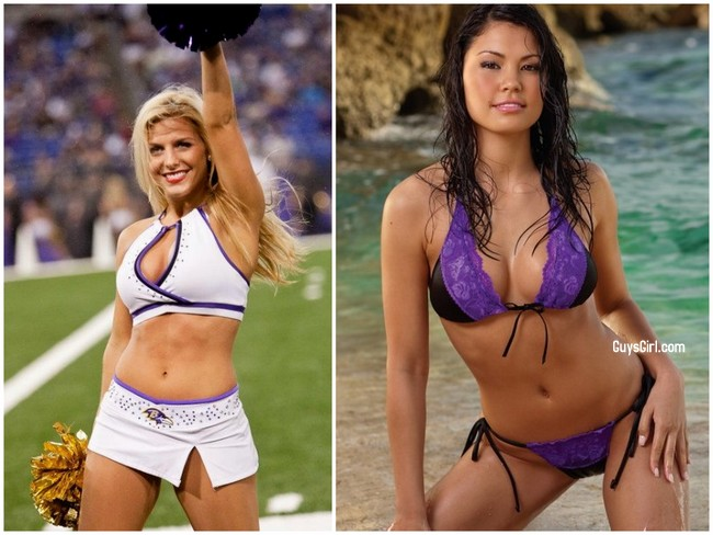 Superbowlcheerleaders Ravens