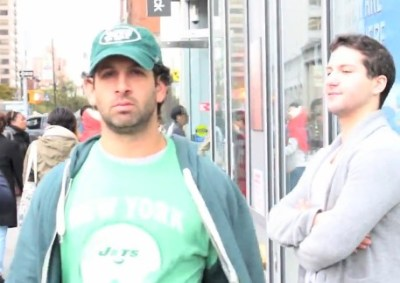 Jets Fan Harassed In Catcalling Parody Video