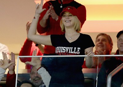 jennifer lawrence louisville cardinals fan