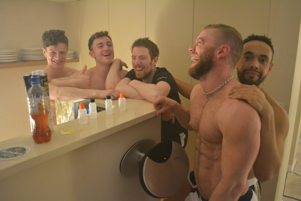 The harrowing film details a drug-fuelled night in the life of chemsex party revellers.