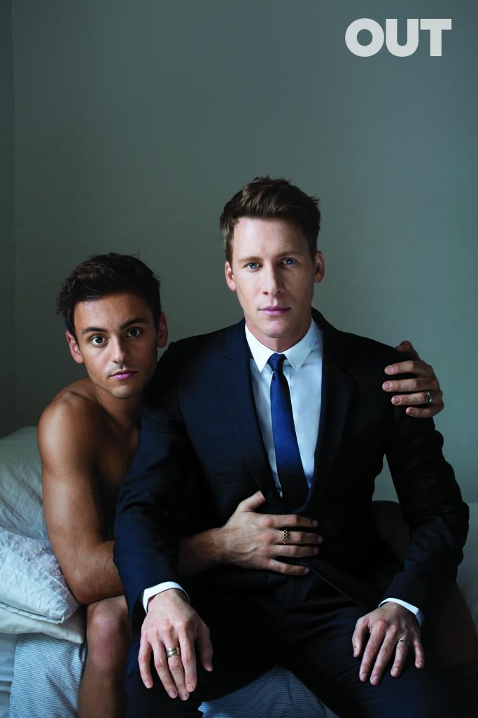 Tom Daley and his Oscar winning screenwriter BF Dustin Lance Black