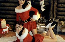 Cheeky girls latest single 'It's a Cheeky christmas'.    Credit:WENN   Supplied by WENN  This is a PR photo. WENN does not claim any Copyright or License in the attached material. Fees charged by WENN are for WENN's services only, and do not, nor are they intended to, convey to the user any ownership of Copyright or License in the material. By publishing this material, the user expressly agrees to indemnify and to hold WENN harmless from any claims, demands, or causes of action arising out of or connected in any way with user's publication of the material.