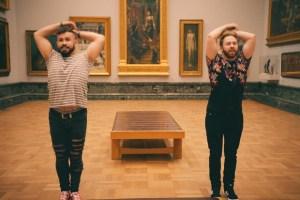 Dan and Luke dancing