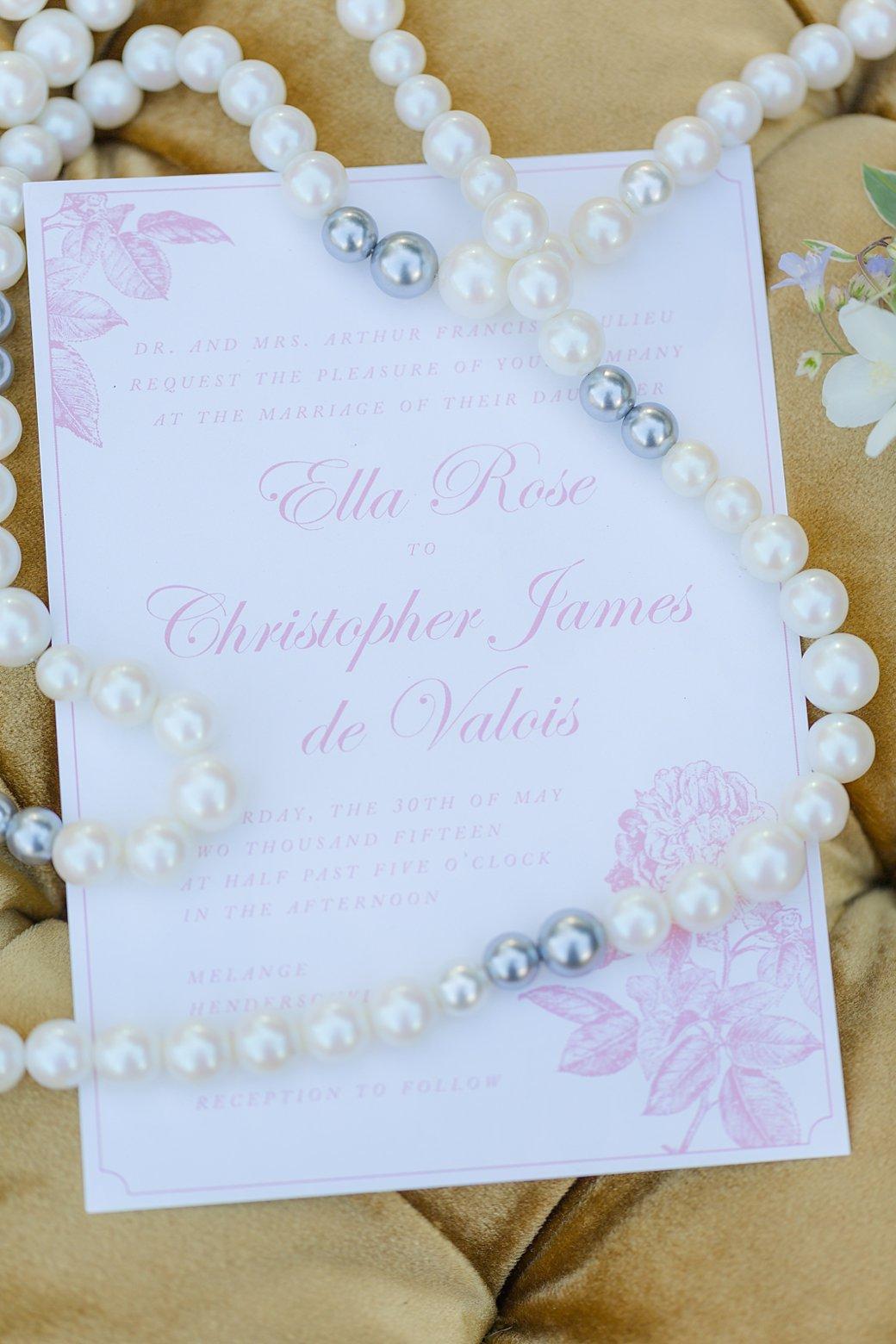 cinderella wedding styled shoot cinderella wedding invitations cinderella I wedding invitation I pearls I wedding invite
