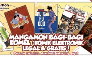 Manga-Mon bagi-bagi Komel (Komik Elektronik) Legal Gratis!