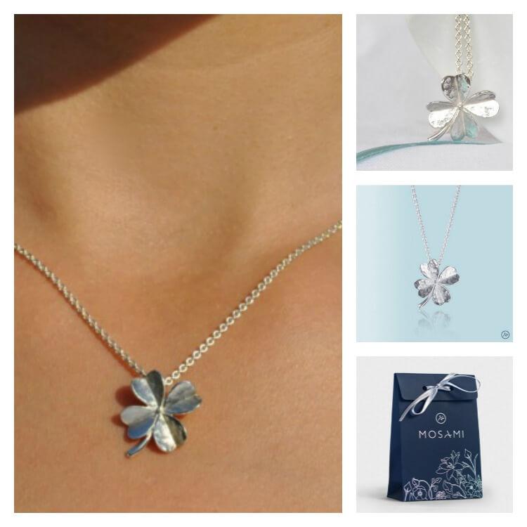 Lucky-Clover Necklace