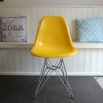 Adding DSR Chairs to our Vintage/Industrial Kitchen