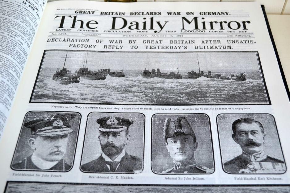 World War I Centenary Book